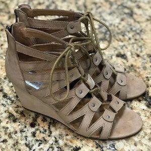 DV Dolce Vita Wedge Gladiator Heels
